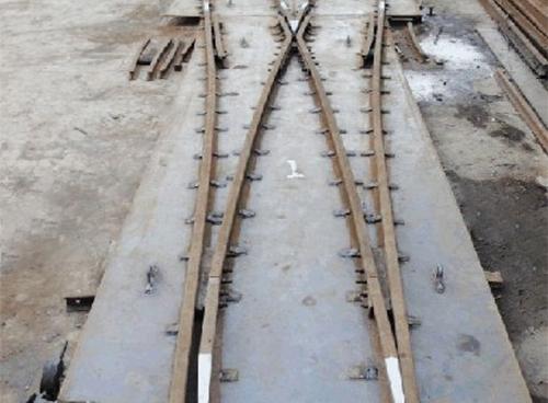 福建煤礦道岔
